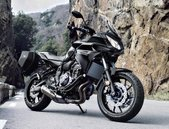 Bastia moto location MT-07 Tracer